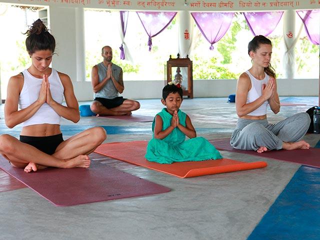 Медитация Випассана Фото