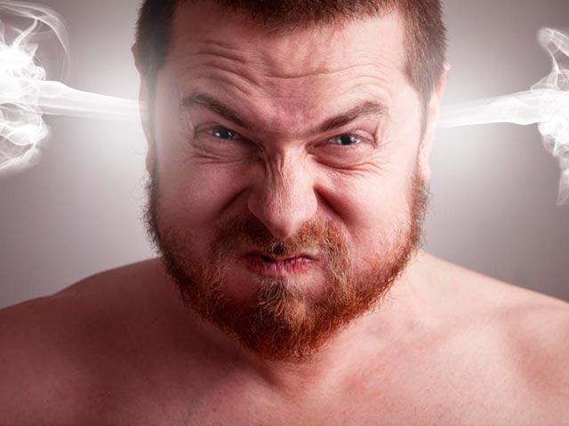 Эмоция гнева Фото