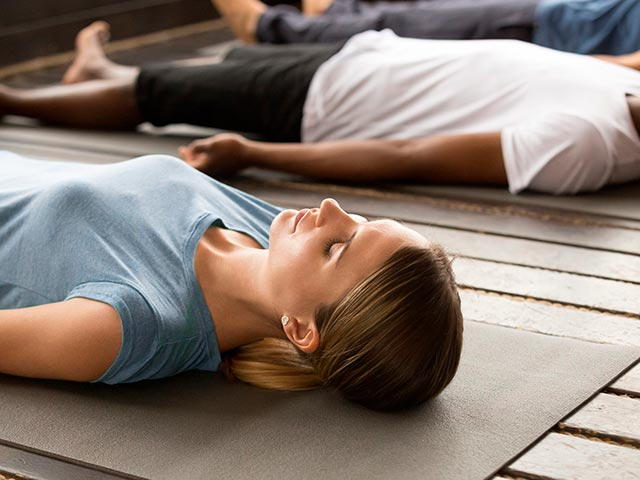 Медитация йога нидра Фото
