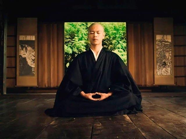 Дзен медитация Фото