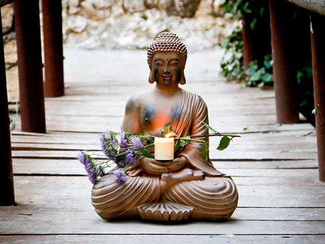 Буддийская медитативная практика Фото