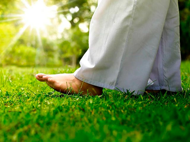 Медитативная ходьба Фото