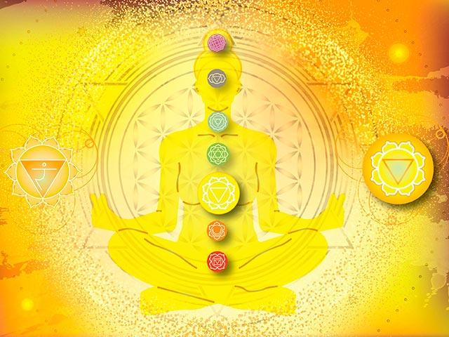 Медитация на чакру Манипура Картинка